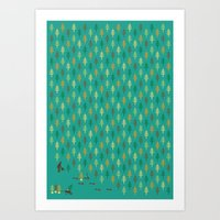 Reforestation Art Print