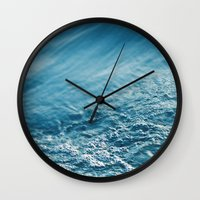 cold embrace Wall Clock