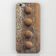 Rivet heaven iPhone & iPod Skin
