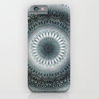 WINTER LEAVES MANDALA iPhone 6 Slim Case