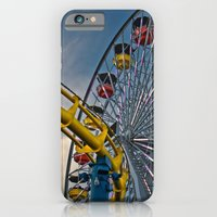 iPhone & iPod Case featuring Pier Rides by 50one50 photography