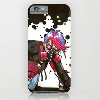 iPhone & iPod Case featuring Dystopian Dumpster Princess by Minerva Mopsy