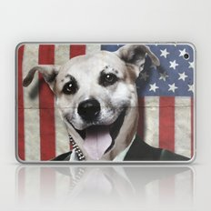 Patriotic Dog | USA Laptop & iPad Skin