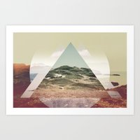 Perceptions landscapes Art Print