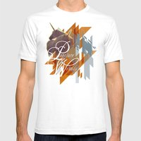Puncture Wounds Mens Fitted Tee White SMALL