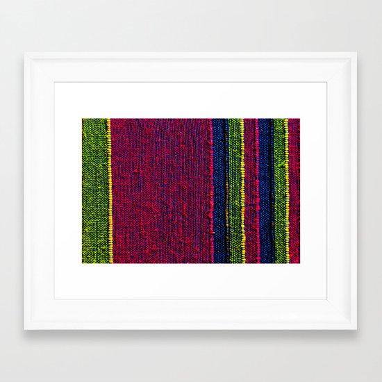 Colour of Life Framed Art Print