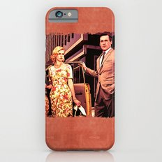 Betty & Don Draper from Mad Men - Painting Style iPhone 6 Slim Case