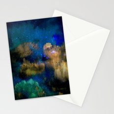 flying among the stars Stationery Cards