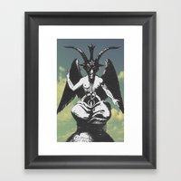 Spirit In The Sky Framed Art Print
