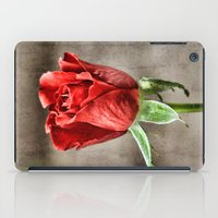 Red Rose Red iPad Case