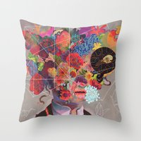 The Deterioration of the Mind And the Disappearance of Car Keys Throw Pillow