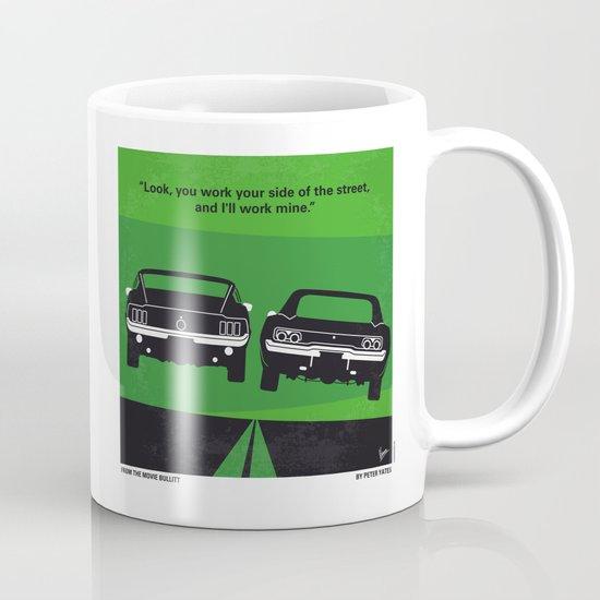 No214 My BULLITT minimal movie poster Mug