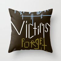Sometimes History Should... Throw Pillow
