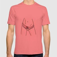 the way you touch me Mens Fitted Tee Pomegranate SMALL
