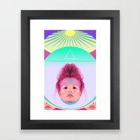 Loli Lu Lu Framed Art Print