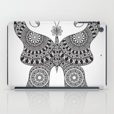 Drawn Butterfly iPad Case