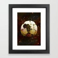 Africa Football Framed Art Print