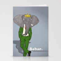 Babar Stationery Cards