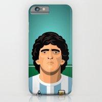 iPhone & iPod Case featuring Maradona 1986 by boobee
