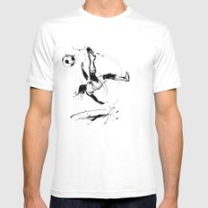 World Cup 2014 White Mens Fitted Tee SMALL