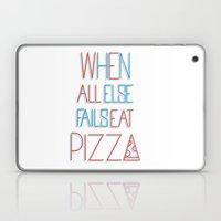 Backup Plan: Pizza Laptop & iPad Skin
