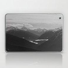 Mountain Landscape Black and White Laptop & iPad Skin