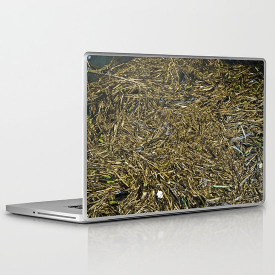 floating wood texture Laptop & iPad Skin