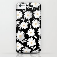 iPhone 5c Cases featuring Daisies by leah reena goren