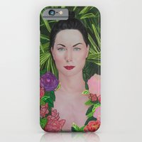 Peony portrait iPhone 6 Slim Case