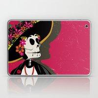Dia de los Muertos Woman Laptop & iPad Skin