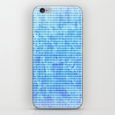 Pale Blue Dots iPhone & iPod Skin