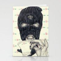 Mask 1 Stationery Cards