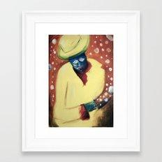 The dream maker Framed Art Print
