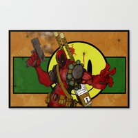 Merc with a mouth Canvas Print