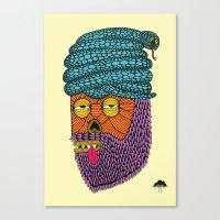 Snake Turban Steve the Zombie Canvas Print