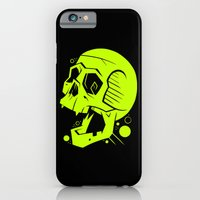 iPhone Cases featuring Toxic Scream by Artistic Dyslexia