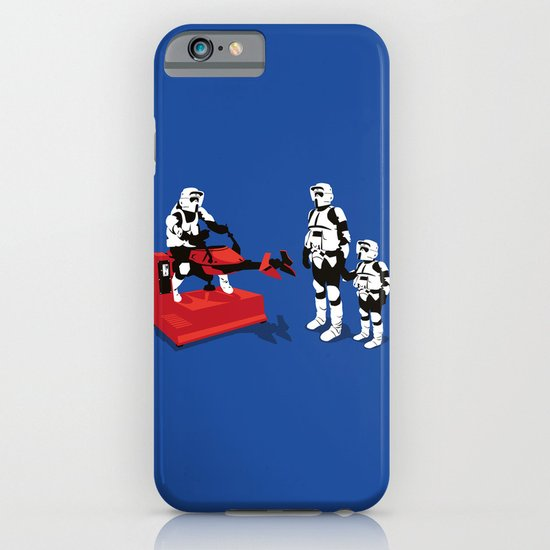 Biker Scout Wannabe iPhone & iPod Case