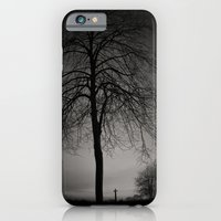 silhouette at Durham Cathedral iPhone 6 Slim Case