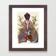 Adore Anatomical Heart L… Framed Art Print