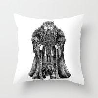 Oakenshield Throw Pillow