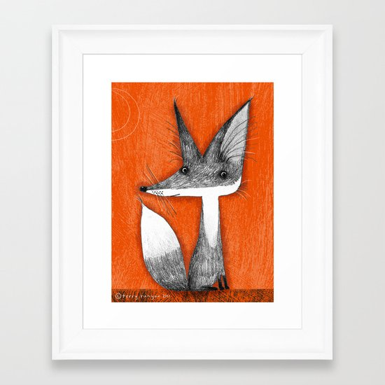 HEARING AIDS Framed Art Print