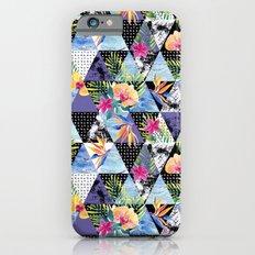 Crystal flower iPhone 6 Slim Case