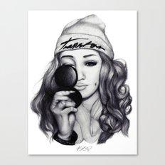 Hashtag Canvas Print