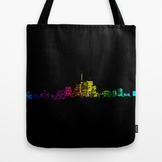 Toronto Skyline Gradient Tote Bag