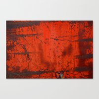 Red Roof Hatch Canvas Print
