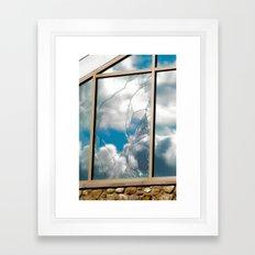 Smashed Glass Framed Art Print