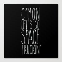 Space Truckin' Canvas Print