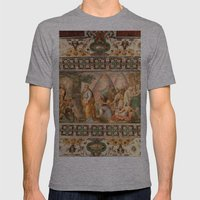 The Italian Ceiling Mens Fitted Tee Athletic Grey SMALL