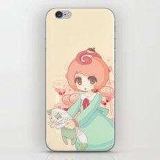 pixel cakeroll iPhone & iPod Skin