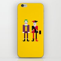 Joker And Harley Quinn iPhone & iPod Skin